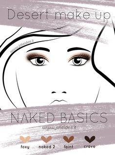 Review Naked Basics Urban Decay e Desert Make up Tutorial