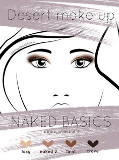 Review Naked Basics Urban Decay e Desert Make up Tutorial