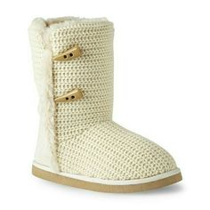 Personal Identity Creme Mid-Calf Sweater Boot These boots are great with a pair of leggings and a nice coat. Enjoy cool nights with these.  Purchased for winter, worn once then kept in box. Personal Identity Shoes Winter & Rain Boots