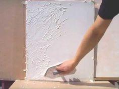 На старых стенах после обоев - делаем декоративную штукатурку. Instead of Wallpaper on the walls - YouTube
