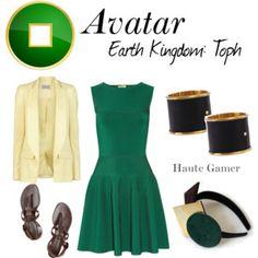 Avatar Earth Kingdom: Toph