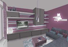 peinture grise salon contemporain - Recherche Google | DECO ...