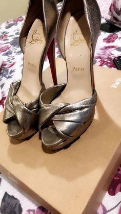 fd46b22dfaa christian louboutin Platform Size 39  fashion  clothing  shoes  accessories   womensshoes