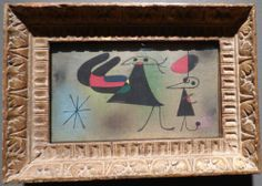 """Joan Miro, """"Figures and Star,"""" 1949. From the William S. Paley collection shown at the Crystal Bridges Museum of American Art."""