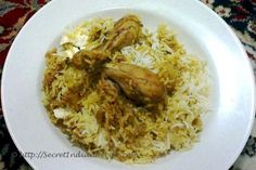 Original Indian Recipes by home makers, mothers, grandmothers & Indian food lovers. Dum Chicken Biryani (Fragrant Chicken and rice cooked dum style) Egg Rice Recipe, Rice Recipes, Briyani Chicken, Chicken Eggs, Grandmothers, Biryani, Hyderabad, Homemaking, Indian Food Recipes