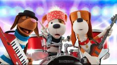 Bookaboo - A great TV show where well-known French Canadian celebrities read kids' books to a drummer dog puppet, Bookaboo, who needs his daily storytime in order to play in his ban. Great way to do read alouds in French.