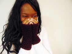 Fingerless gloves are splendid for the fall and winter season. Keep your hands warm while having finger accessibility. Pull your sleeves over or