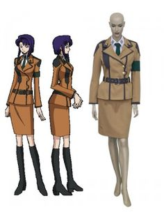 Code Geass Cecile Croomy Cosplay Outfits Costumes