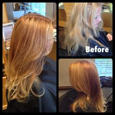 Rose gold hair color. Hair by Heather Klement