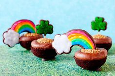 End of the Rainbow Cupcakes1