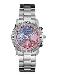 Sofisticado y a la moda, este reloj es el complemento perfecto para completar los looks de fin de semana