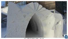 Musée Arktikum. Colonie de vacances Laponie - Hiver 2013. #laponie #finlande  #cei #neige #glace