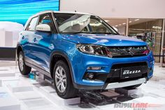 Indian-bound Maruti Suzuki cars attended GIIAS 2016 The Indian-bound cars, Maruti Suzuki Baleno, Vitara Brezza and S-Cross crossover, has been previewed at the ongoing GIIAS 2016 motor show in Indonesia. All Indian-specific models will have the updated specifications, in terms of the mechanical and design features.
