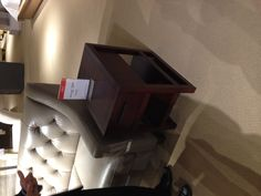 Macy's, item: Tahoe Copper end table, price: $199.00 (on sale)