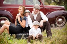 vintage photo shoot | The McGinty Family: San Diego, CA » Kacey Luvi Creative Productions