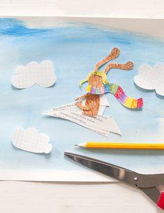 Und so ein Zeichenabenteuer beginnt man am allerbesten mit einem gut gespitzten Bleistift. Und natürlich Abenteuerschnipseleien. Die sind ganz besonders wichtig! Denn so ein Abenteuerhase will auch gut geschnipselt sein! Stationery, My Love, Illustration, Paper Planes, Pencil, Bunny, Adventure, Paper Mill, Stationery Set