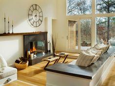 26 ideias de salas com lareira ~ Decoração e Ideias | casa e jardim