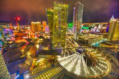 View from the Aria, Las Vegas, Nevada