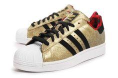 Adidas Superstar II 2 Originals Gold Black Yr of the Horse