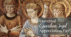 It's Universal Guardian Angel Appreciation Day! | The Catholic Company