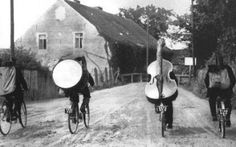 Making Music: Bicycles, Busking, Lady Cellist