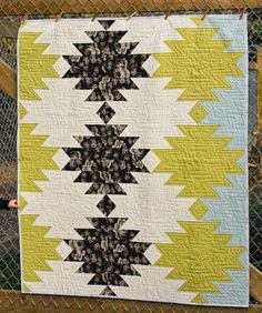 This quilt has been sitting completely finished for at least a year. Here is its story. Once...