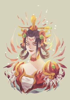 Zhuque Mercy by gemkimart