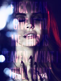 Lana Del Rey, Gods and Monsters