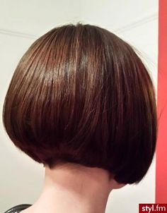 Love the back of this bob so cute