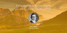 Drive your #business! www.maverickinvestorgroup.com #Investing #Motivation #ForbesLife #BizHour