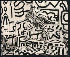 Photo Annie Leibovitz -. Keith Haring