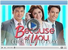 Because of You - Pinoy Show Biz  Your Online Pinoy Showbiz Portal