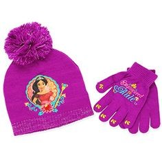 D. Pink //L. Pink Mix Girls Feather Scarf and Gloves Set One size 5-10 Years