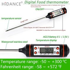 HiDANCE Electronic Digital Thermometer instruments hydrometer Meat Food Probe Kitchen Cooking weather station temperature sensor     Buy Now for $17.17 (DISCOUNT Price). INSTANT Shipping Worldwide.     Buy one here---> https://innrechmarket.com/index.php/product/hidance-electronic-digital-thermometer-instruments-hydrometer-meat-food-probe-kitchen-cooking-weather-station-temperature-sensor/    #hashtag2
