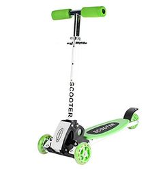 FunnyPro 3 Wheeled Adjustable Height Scooter for KidsGreen *** Be sure to check out this awesome product.