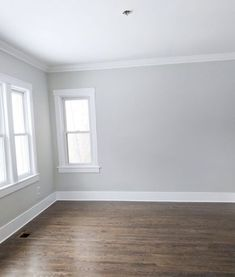 Benjamin Moore, Moonshine, Gray Paint, Home Renovation, Chicago renovation Painting Light Grey Paint Colors, Best Gray Paint Color, Light Grey Walls, Paint Colors For Home, Warm Gray Paint, Grey Wall Color, Crown Paint Colours, Playroom Paint Colors, Warm Grey Walls