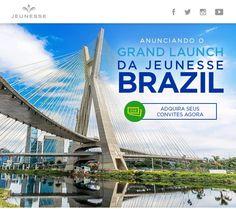 Anunciando o Grand Launch da Jeunesse Brasil! Não perca adquirar ingressos para o vossa equipe aqui: http://ift.tt/1PtJUcK
