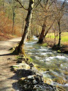 Landscape Photos, Landscape Art, Landscape Paintings, Landscape Photography, Nature Photography, Beautiful Places, Beautiful Pictures, Autumn Scenery, Watercolor Landscape