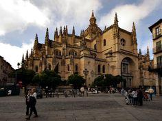 Catedral de Segóvia, na Espanha.