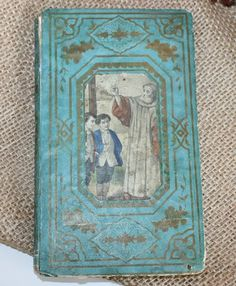 Antique French Childrens Religious Moral Book