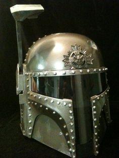 steampunk stormtrooper helmet!