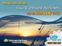 Khuyến mãi nội địa đặc biệt của Vietnam Airlines