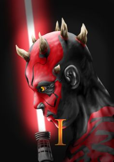 Caylor Heaverlo Digital Art Studio FA2016 SCC Project 5: The Library is Open Episode I Darth Maul Cover