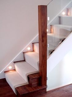 Case Study - Walnut and Glass Staircase