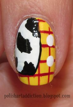 Disney Toy Story Woody nails