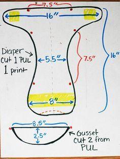 Cloth diaper or diaper cover.