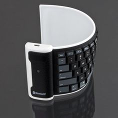 Roll Up Washable Bluetooth Keyboard