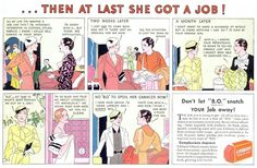 ... then at last she got a job!