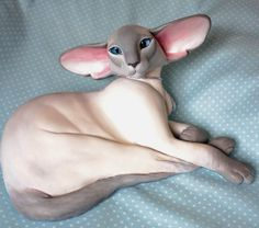 Blue Point Siamese Cat Scupture. Available on eBay until the 8th December 2013.  http://www.ebay.co.uk/itm/291029009152