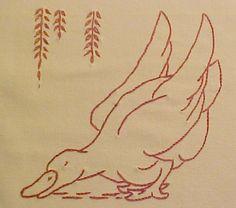 Block #18 of Ruby McKim Farm Quilt designs - finished 10/17/09. blogged at www.gettingtocrazy.blogspot.com